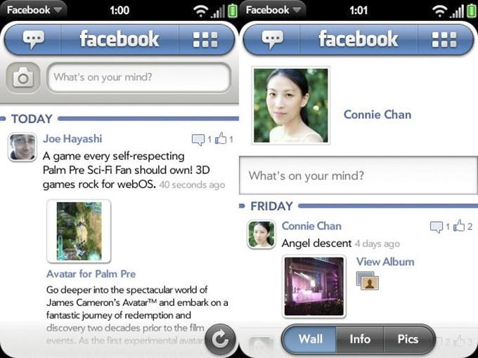 Приложение Фейсбук с сеточной иконкой